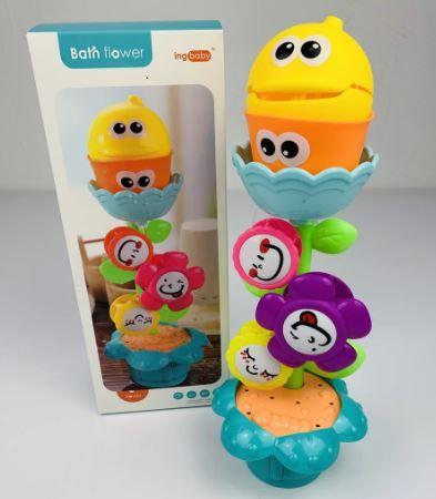 """Водопад игрушка для ванной """"Цветок в горшке"""" для ванной на присоске"""