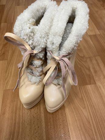 Обувь сапоги Kenzo