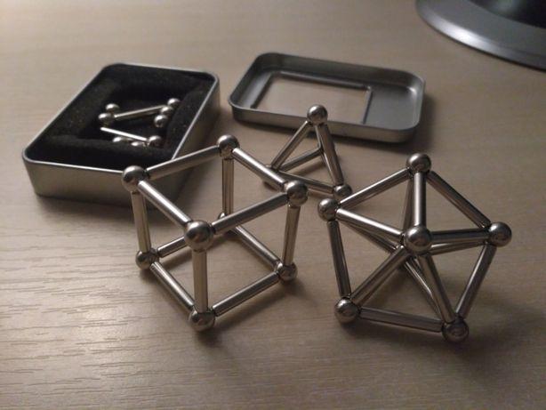 Магнитный конструктор (шарики и палочки), 63 детали, развивающий
