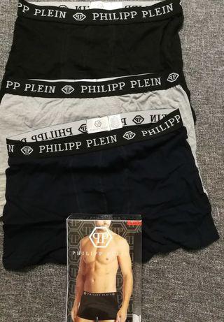 Bokserki męskie PHILIPP PLEIN Calvin Klein i inne  3pak za 38zł.