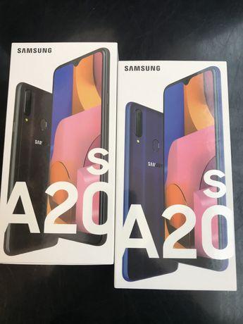 Samsung A20s  czarny /niebieski