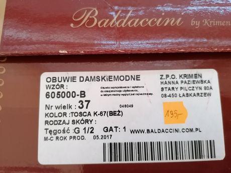 Szpilki Baldaccini rozmiar 37 wzór 605000-B Tosca K-67 (Beż)
