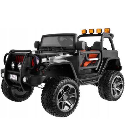 Jeep na akumulator 4x4 auto terenowe samochód dwuosobowy pilot