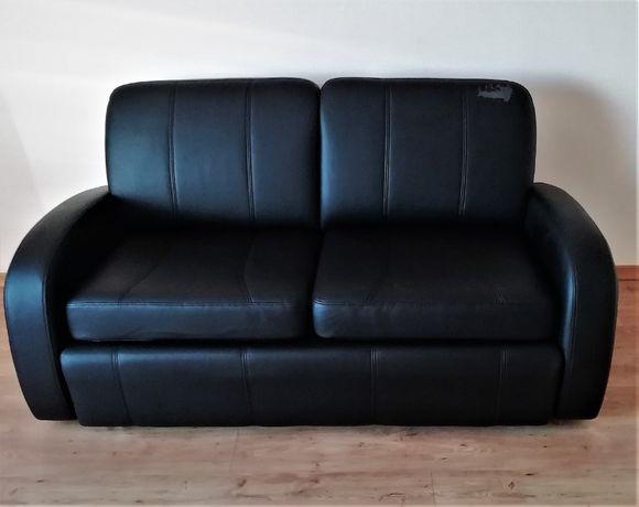 sofa fotel skóra ekologiczna zestaw wypoczynkowy czary używany