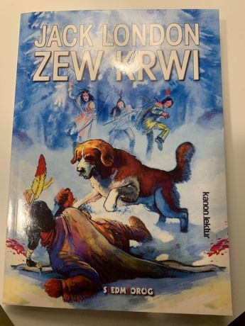 Zew Krwi -Jack London + 4 filmy DVD