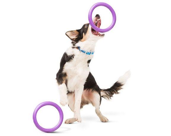 PULLER - тренировочный снаряд, игрушка для собаки. Комплект-два кольца