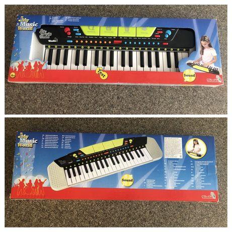 Детский музыкальный инструмент Электросинтезатор Simba