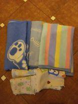 Kocyki dla chłopca gratis 3 pieluszki tetrowe