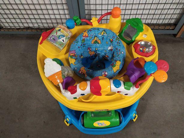 Chodzik jeździk pchacz zabawka edukacyjna interaktywna 2 w 1 z USA