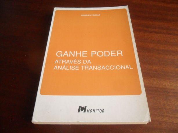 """""""Ganhe Poder Através da Análise Transaccional"""" de Charles Vincent"""