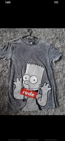 Koszulka T-shirt simpsons sinsay rozmiar XS 34 unisex