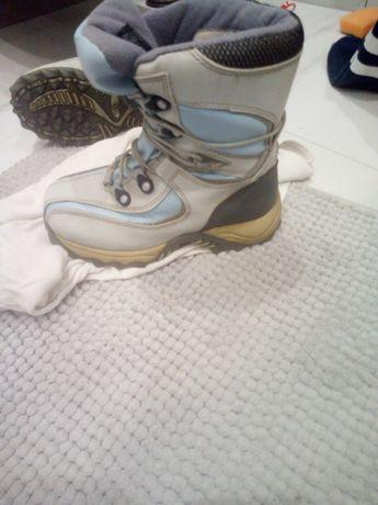 Buty zimowe wkł.19,5cm