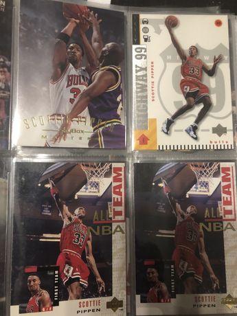 8 karty nba Pippen Chicago Bulls