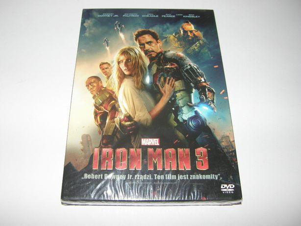 Iron Man 3 / DVD / PL Dubbing / Nowy w FOLII