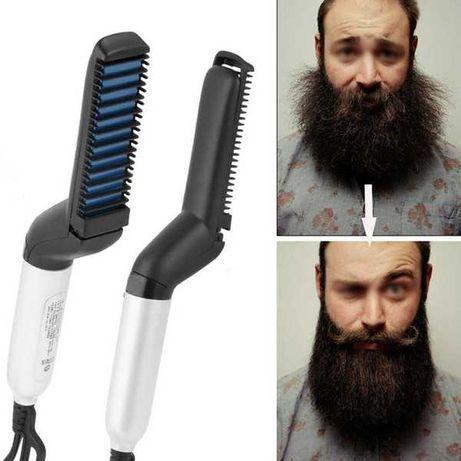 Щітка для випрямлення бороди Швидка гребінець випрямлення волосся чол