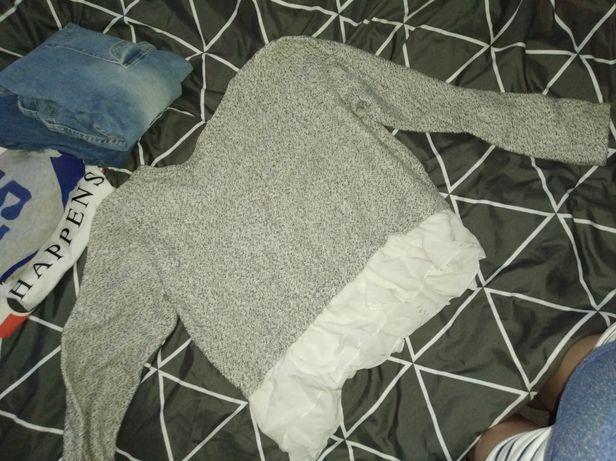 Bluza z baskinką