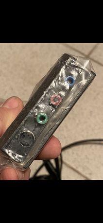 Кабель Переходник Адаптер на S-Video 3 RCA