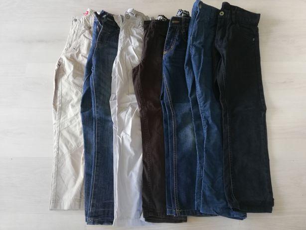 Spodnie chłopięce rozm.128-134