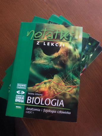 Notatki z lekcji Biologia 6 nowych książek