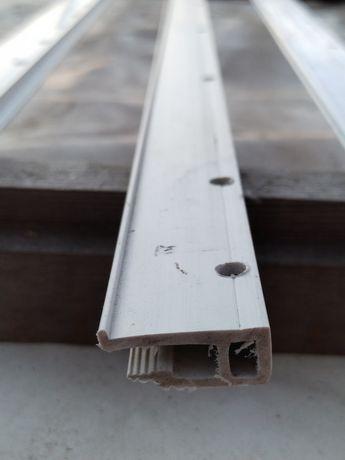 Профиль ПВХ для натяжных потолков монтаж к стене
