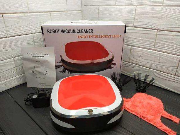 Робот пылесос 16001 (WY 502), влажная уборка. Супер цена!