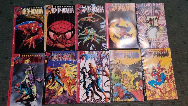 Lote 20 Revistas BD Marvel
