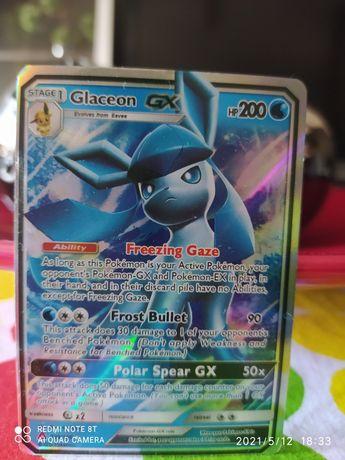 Carta de Pokémon Glaceon
