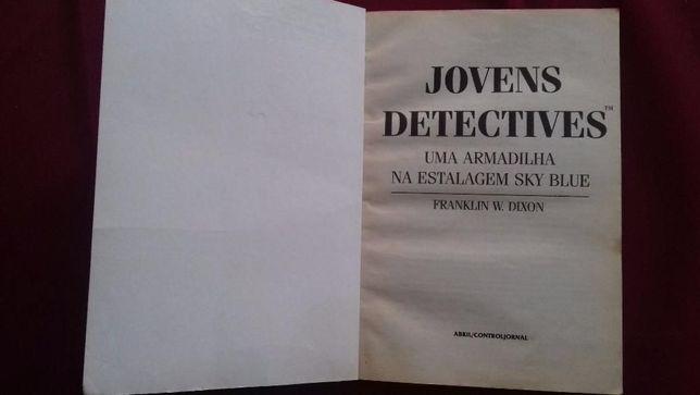 Jovens Detectives- Uma Armadilha na Estalagem Sky Blue, Franklin dixon