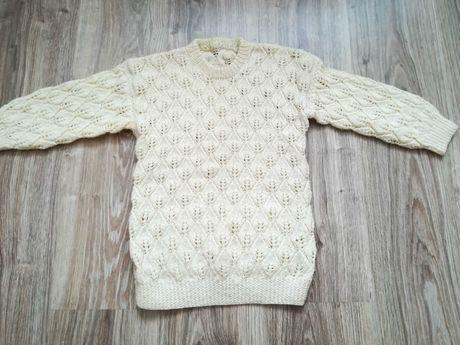 Sweterek dla dziewczynki roz 116