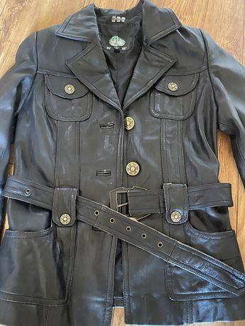 Натуральная кожа косуха куртка пиджак