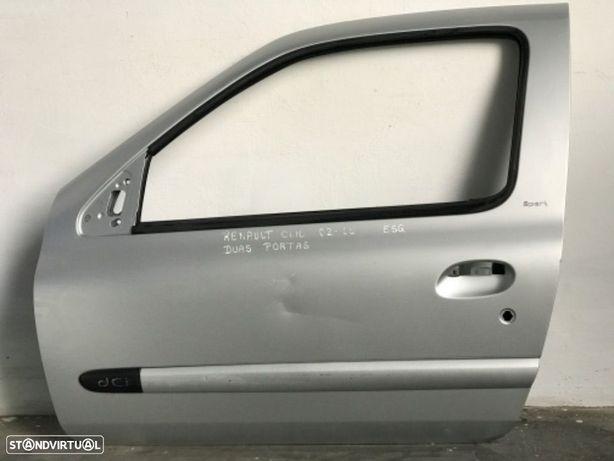 Porta ESQ de Renault Clio de 02 a 05 / duas portas carro