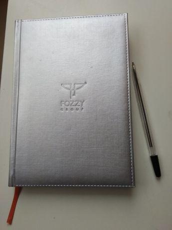 Ежедневник серебрянный блокнот записная книжка 2009 корпоративные