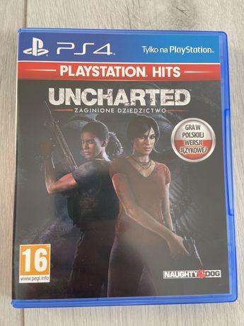 Uncharted zaginione dziedzictwo PlayStation 4 [PS4]