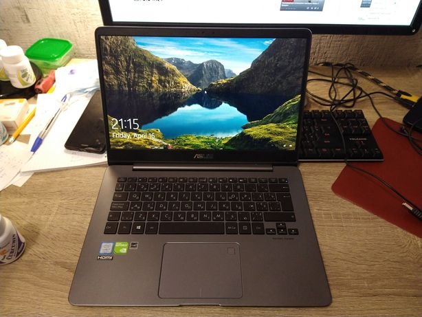 "Asus 14"" UX430U i7-512SSD-Nvidia (2020 Ноутбук ультрабук)"