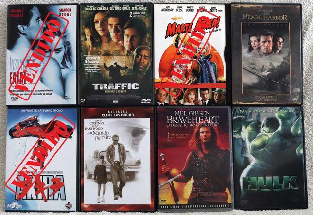 Lote 40 filmes em DVD [individual ou em lote]