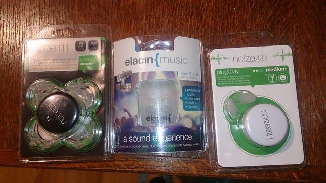 nowe Zatyczki do uszu dla muzyków noizezz elacin music xs