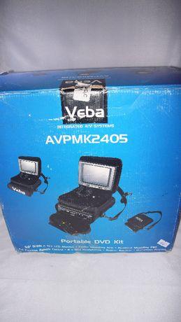 DVD z lcd Veba do tir /a ciężarówki auta 12V cały zestaw w kartoniku