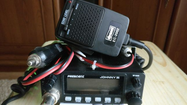 CB Radio + Mikrofon