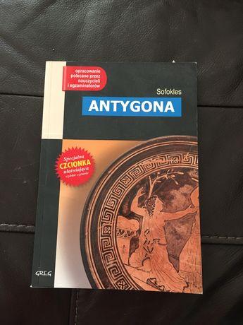 Antygona z opracowaniem - Sofokles