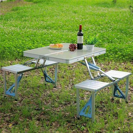 Набор стол стулья для пикника туристический складной комплект шашлыки