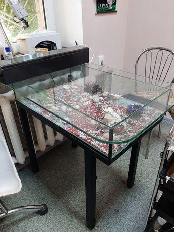 Маникюрный стол (аквариум)