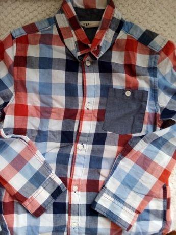 Koszula 128 w modna krate H&M