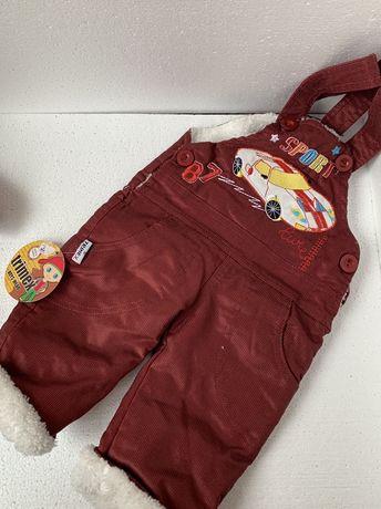 Теплые штанишки для мальчика