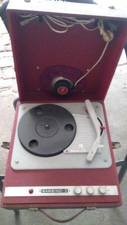 Stary Gramofon Bambino - 3.