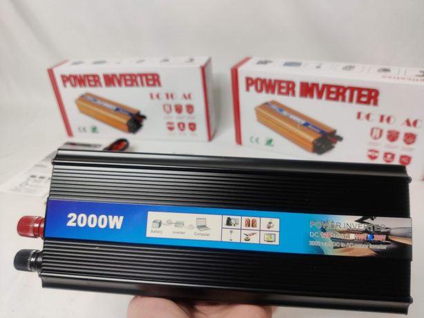 [NOVO] Inversor / Conversor Potência 2000W [12V - 220V] Transformador