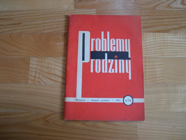Problemy rodziny- dwumiesięcznik XI-XII 1973 r.