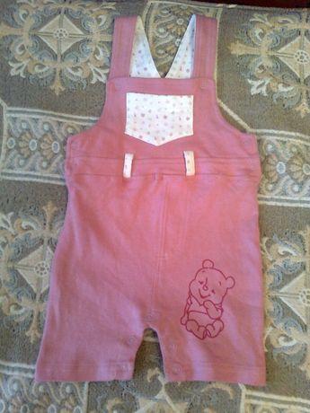 комбінезон дитячий Disney baby бавовняний шорти на 6-9 місяців