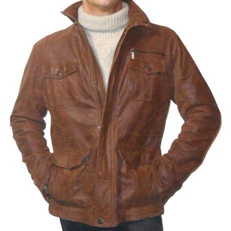 Кожаная куртка. Solid Men.56р