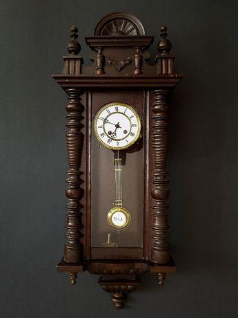 Eklektyczny zegar wiszący z końca XIX w.