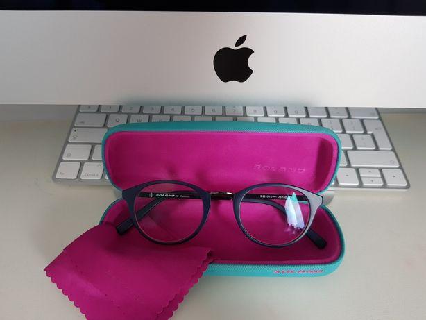 Okulary dziecięce SOLANO model S50109D- oprawki stan idealny